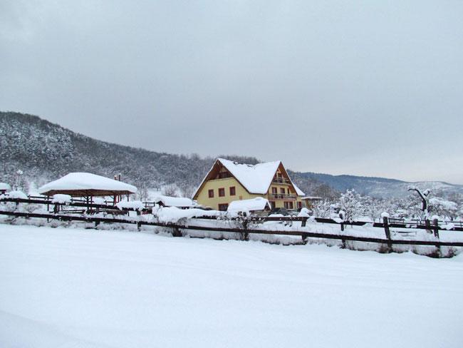 Iarna in Marginimea Sibiului 0 - Pensiunea Printul Vlad