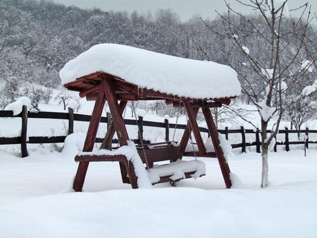 Iarna in Marginimea Sibiului 1 - Pensiunea Printul Vlad