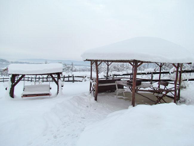 Iarna in Marginimea Sibiului 2 - Pensiunea Printul Vlad